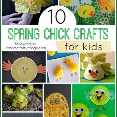 10 Spring Chick Crafts for Kids