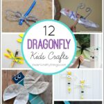 12 Dragonfly Crafts for Kids