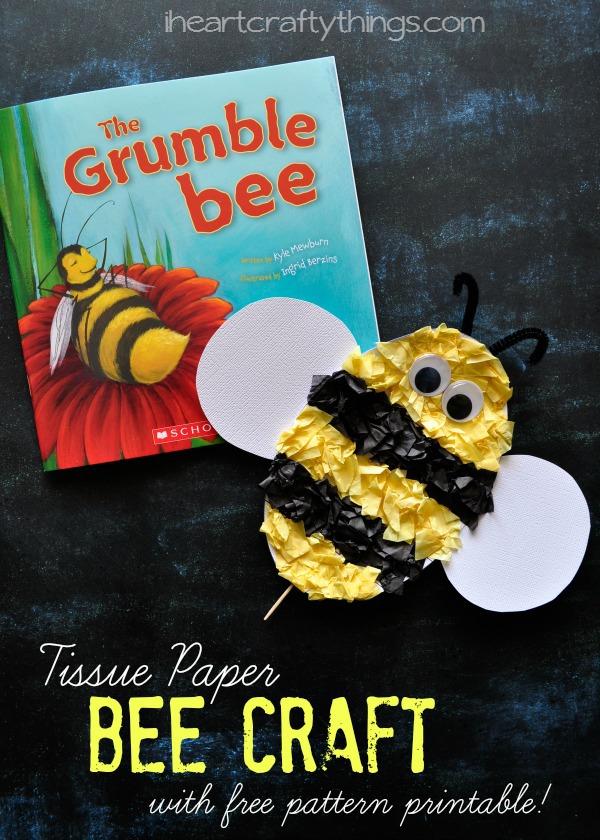 Free Bee S Craft Paper