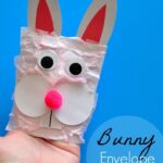 Bunny Kids Craft made from an Envelope