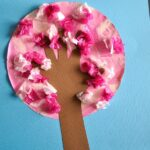 Handprint Cherry Blossom Tree Kids Craft