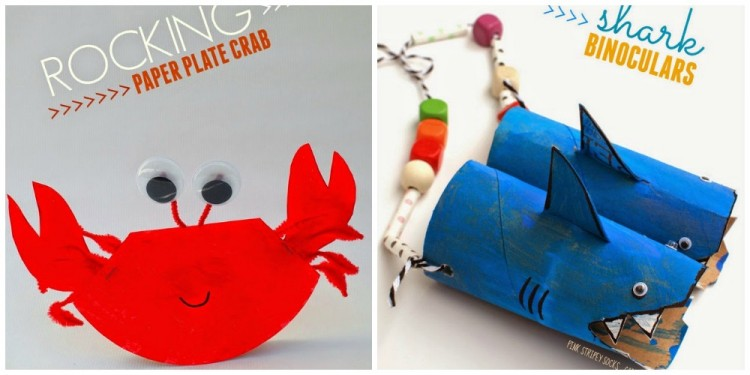 10 Preschool Ocean Crafts And Activities I Heart Crafty Things