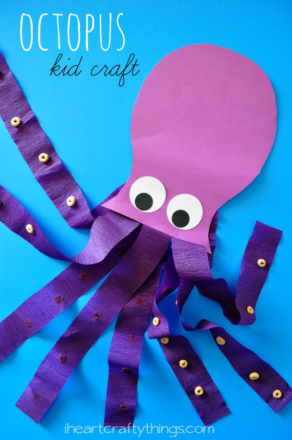 Octopus Kids Craft I Heart Crafty Things