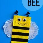 Paper Bag Bee Kids Craft