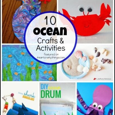 10 Preschool Ocean Crafts and Activities