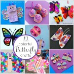 12 Colorful Butterfly Crafts for Kids