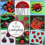 12 Lovely Ladybug Crafts for Kids