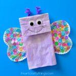 Paper Bag Butterfly Kids Craft