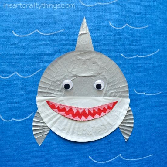 Shark Craft Pinterest