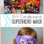 DIY Cardboard Superhero Masks
