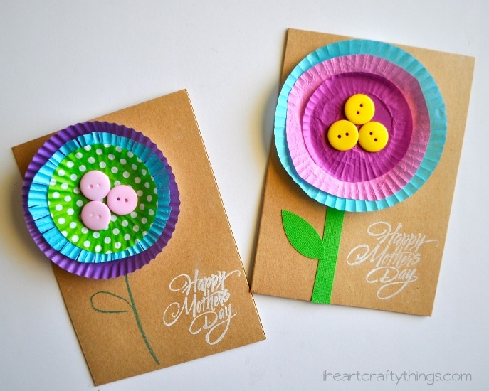 Flower Mothers Day Card 1 2