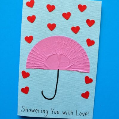 """Showering You with Love"" Mother's Day Card"