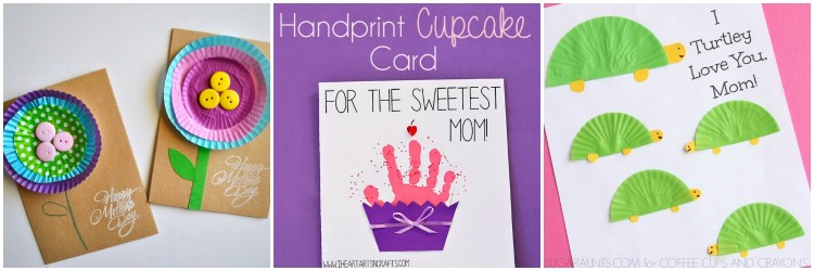 12 Adorable Kid-Made Mothers Day Cards I Heart Crafty Things