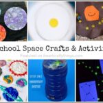 story time happy birthday moon creating a moon masterpiece i heart crafty things. Black Bedroom Furniture Sets. Home Design Ideas