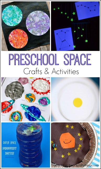 Preschool Space Crafts And Activities I Heart Crafty Things