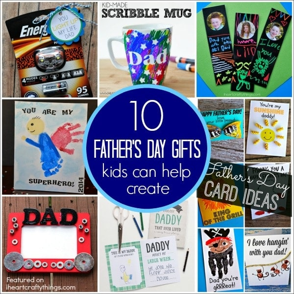 Top 10 father 39 s day gifts kids can help create i heart for Best gifts for fathers day