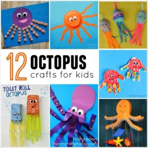 12 Outstanding Octopus Crafts for Kids