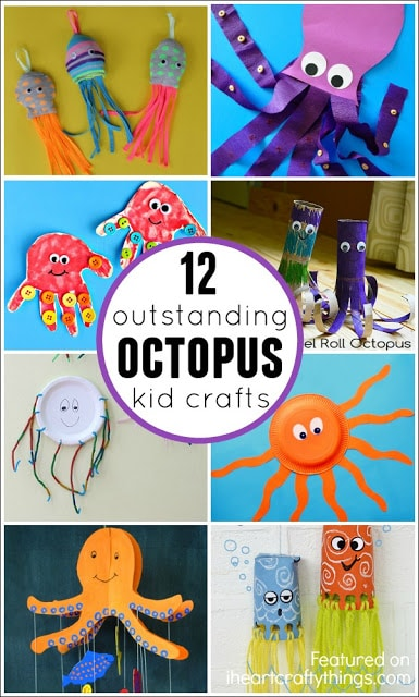 12 Outstanding Octopus Crafts For Kids on 12 Outstanding Octopus Crafts For Kids