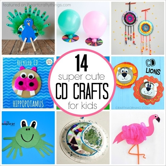 14 Super Cute CD Crafts For Kids