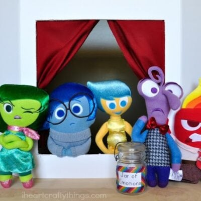 Emotions Puppet Show with Disney's Inside Out Characters