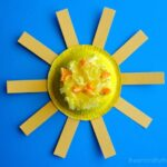 Bright and Colorful Kids Sun Craft