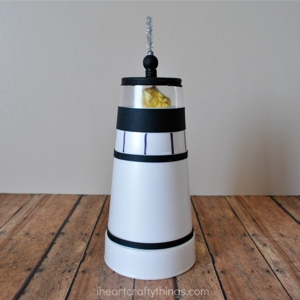 Lighthouse Kids Craft | I Heart Crafty Things