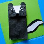Paper Bag Skunk Craft for Kids