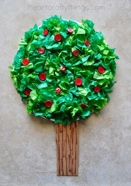 how to make cradt trees