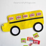 Back to School Bus Craft with Box Tops