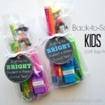 Back-to-School Kids Gift (with Printable Gift Tag)