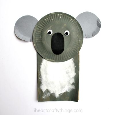 Paper Bag Koala Craft for Kids