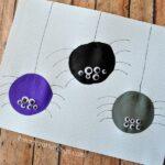 Balloon Print Spider Craft for Kids
