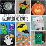 25 Spooktacular Halloween Kid Crafts