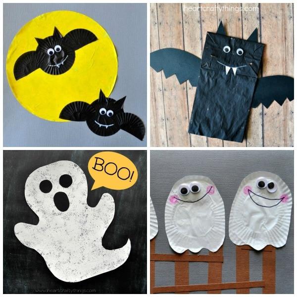 25 Spooktacular Halloween Kid Crafts | I Heart Crafty Things