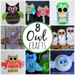 8 Owl Crafts for Kids