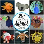 20+ Paper Plate Animal Crafts for Kids