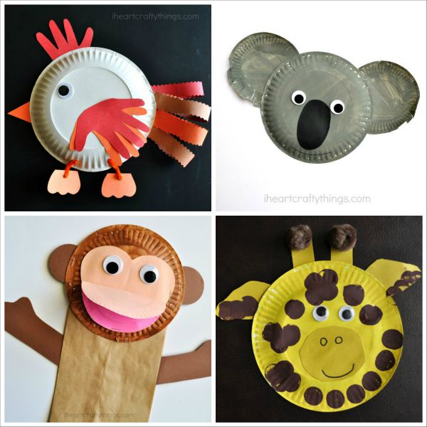 20 Paper Plate Animal Crafts For Kids I Heart Crafty Things