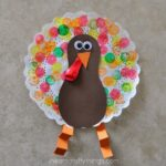 Doily Turkey Craft for Kids
