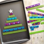 Magnetic Christmas Tree Busy Bag with Scotch® Expressions Tapes