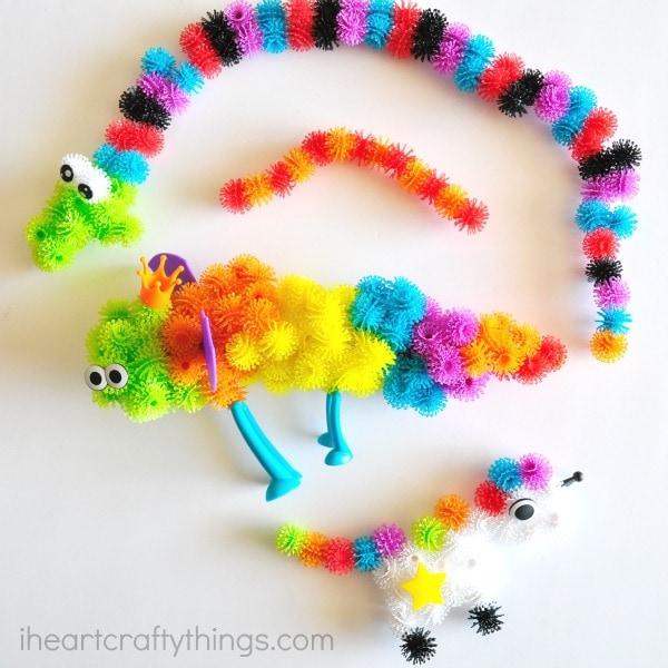 Creative Play With Bunchems on Ladybug Fun
