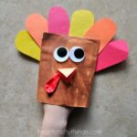 Adorable Envelope Turkey Puppet