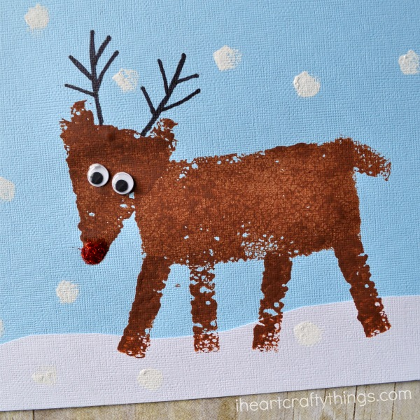Dont Forget To Check Out More Christmas Sponge Painting Ideas Near The Bottom Of This Post From Kids Craft Stars