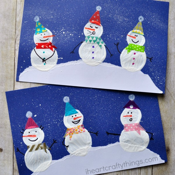 Nice Snowman Craft Ideas For Kids Part - 4: Make Sure To Check Out More Fun Snowman Craft Ideas Near The Bottom Of This  Post From The Kid Craft Stars!
