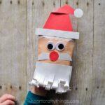 Simple and Fun Santa Envelope Puppet