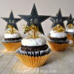 New Year's Eve DIY Cupcake Toppers