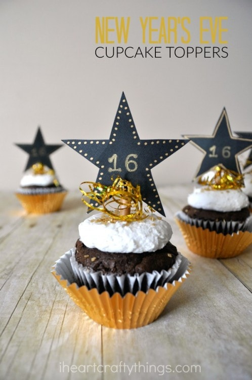 New Years Eve Cupcakes