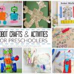 Creative Preschool Robot Crafts and Activities