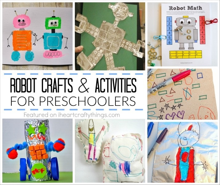 Building Arts And Crafts For Preschoolers