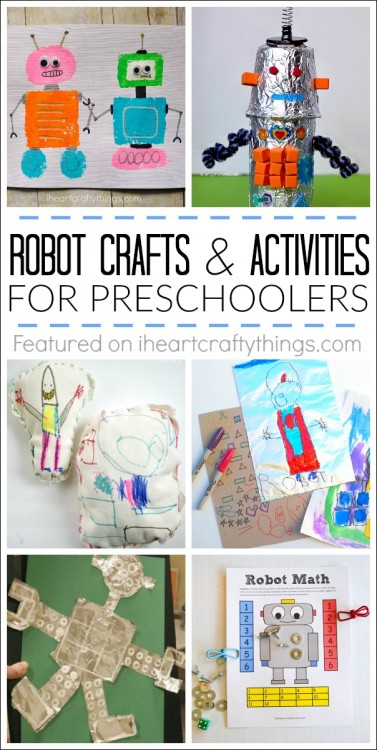 Creative Preschool Robot Crafts And Activities I Heart Crafty Things