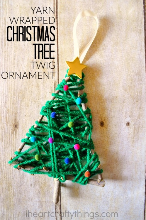 this post is part of a collaborative preschool series where five bloggers and myself have joined together to bring you fun crafts and activities based on a - Christmas Tree Ornaments To Make